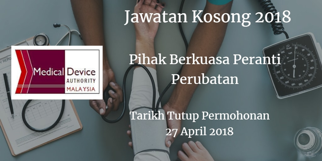 Jawatan Kosong KKM 27 April 2018