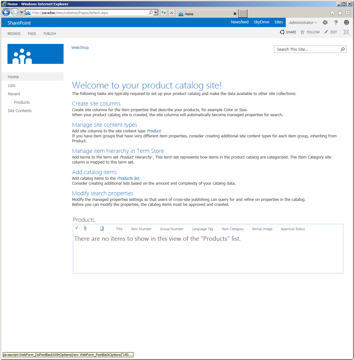 sharepoint 2013 product catalog site template - sharepoint 2013 preview product catalog site template