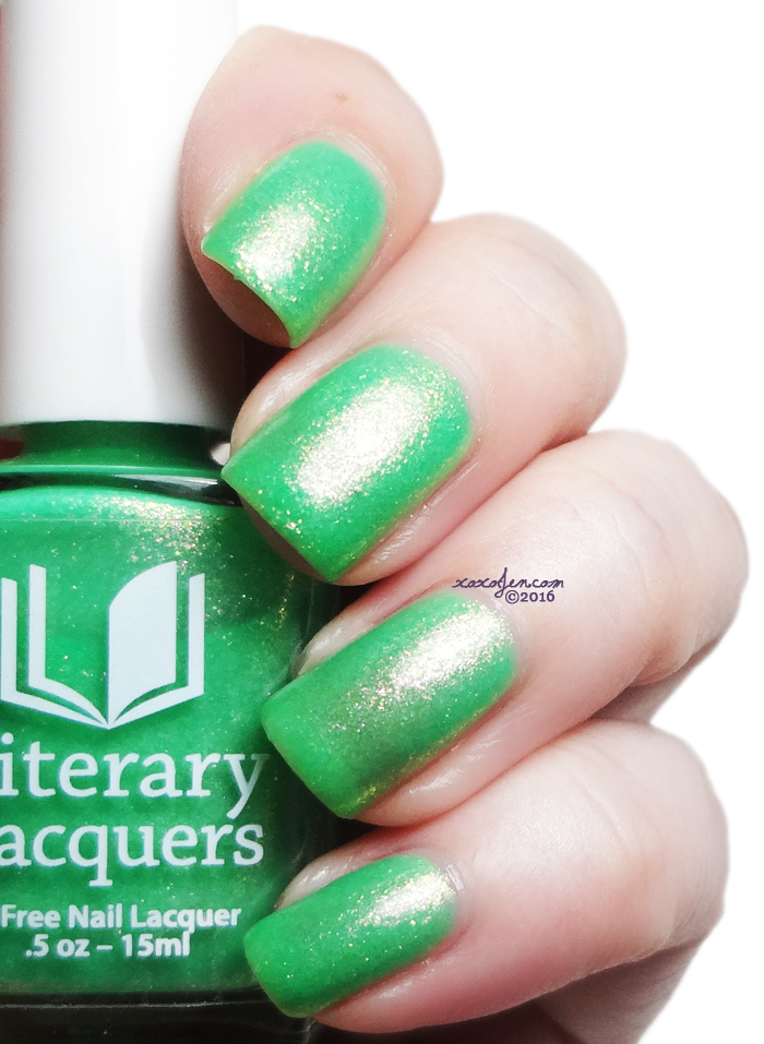 xoxoJen's swatch of Literary Lacquers  Mopsy
