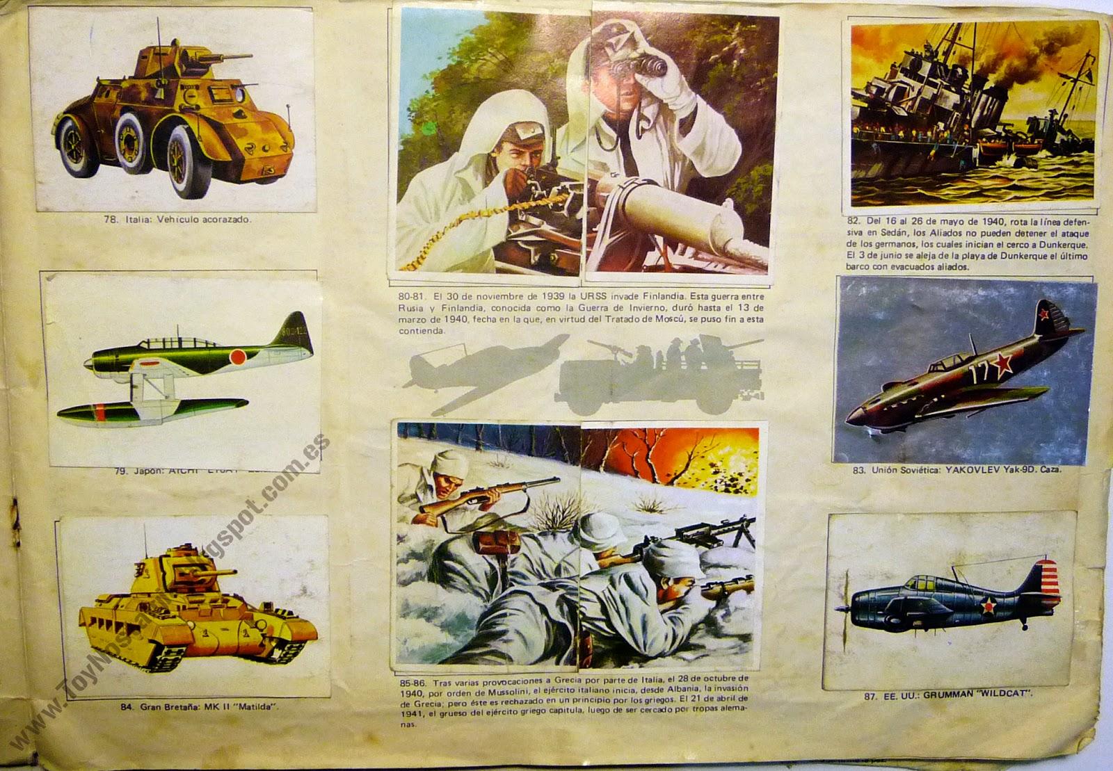 Colección Hechos y Soldados del siglo XX 1980