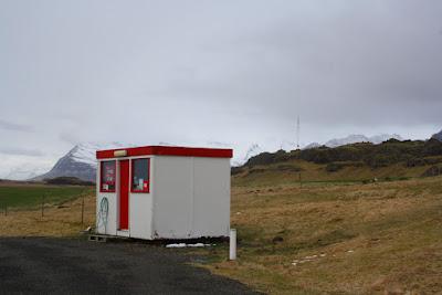 Gasolinera en zona remota Islandia