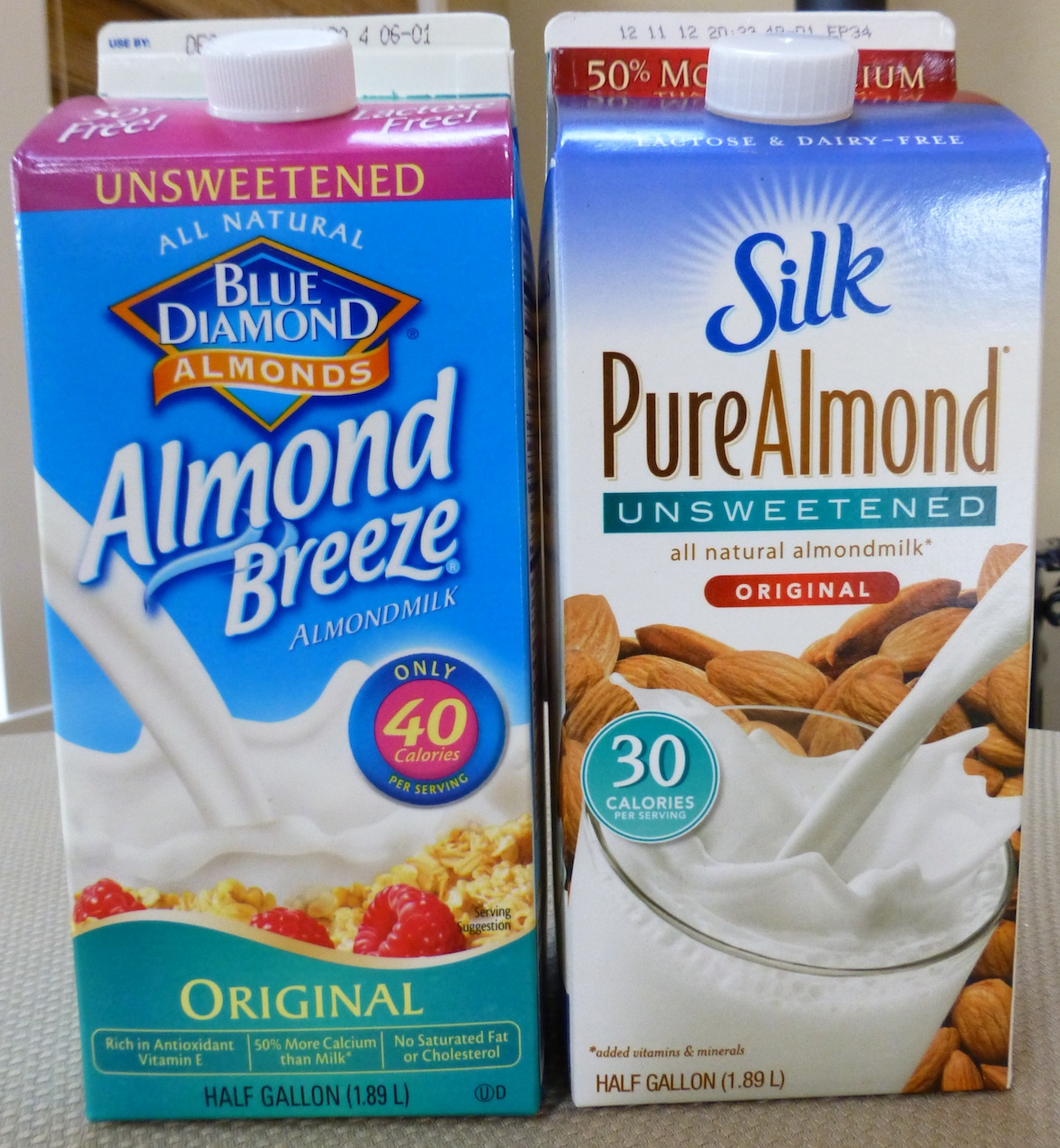 High Calorie Milk Free Foods