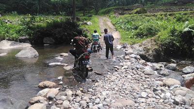 Wisata Air Terjun Kali Bening Tanjung Pakis Aji Jepara