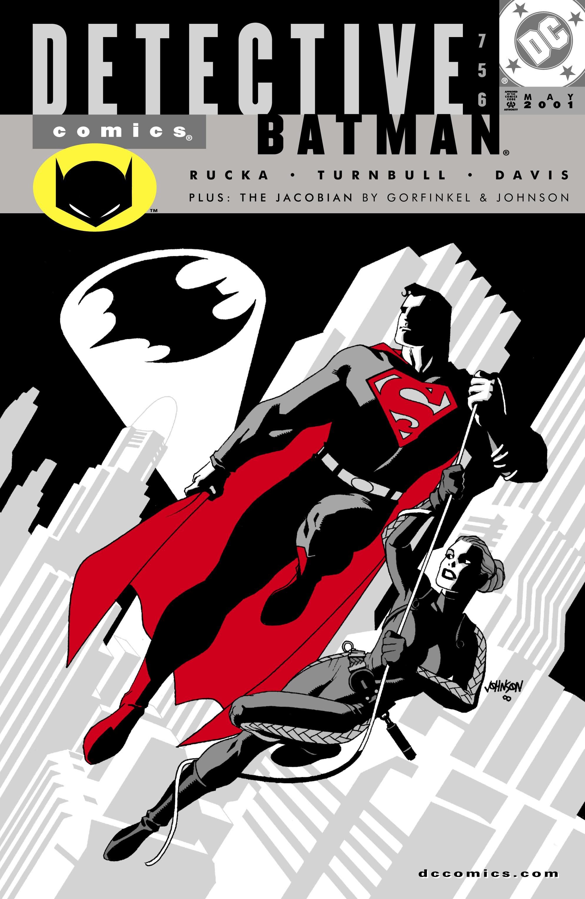Detective Comics (1937) 756 Page 0