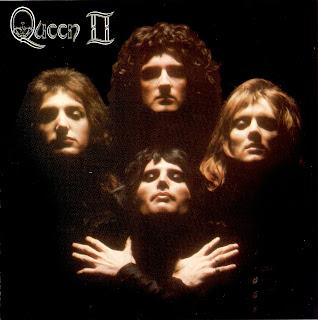 """Capa do Álbum """"Queen II"""" (1974)"""
