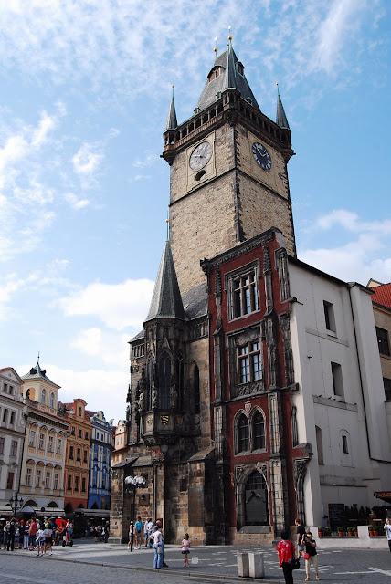 hôtel de ville Prague