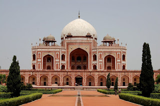 Humayun's Tomb in Delhi - India