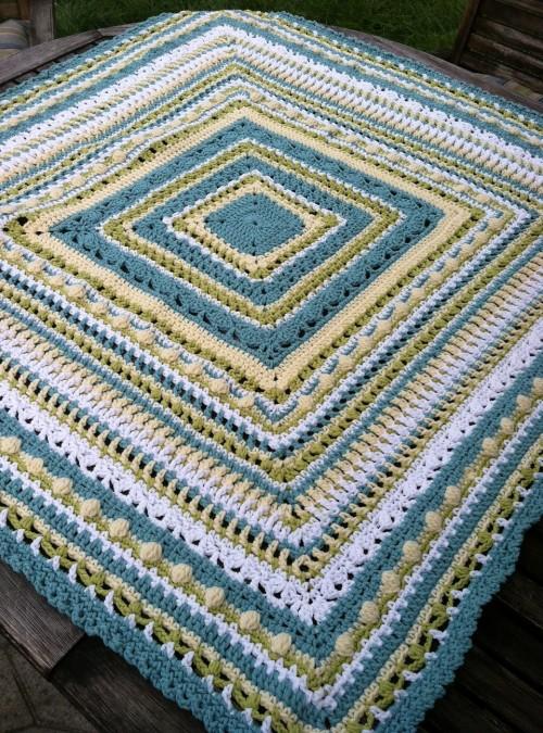 Faeries- Baby Sampler Afghan - Free Pattern