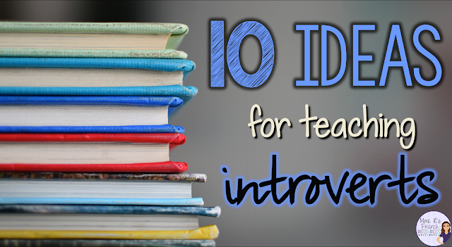 Do you struggle with ways to help your introverted students?  Do you need ideas for how to reach those students who just don't talk?  Check out this blog post for some great insight and teacher-tested tips for teaching introverted students!