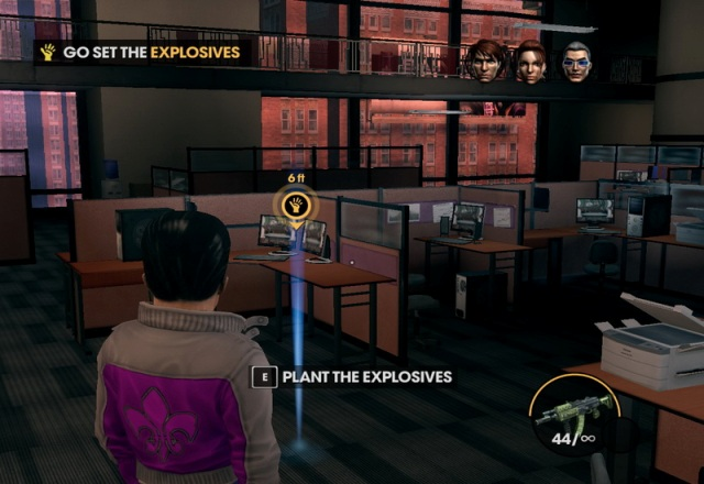 Saints Row 3 PC Gameplay