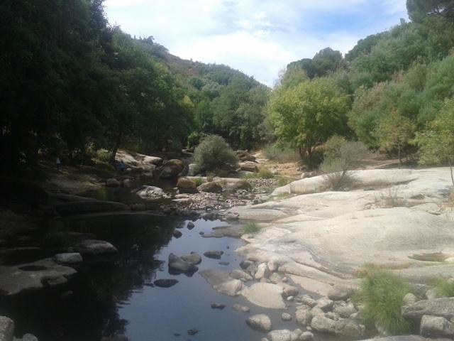 Rio Dão no Verão