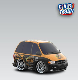 Dodge Grand Caravan 2000 Yukes cartown template skin