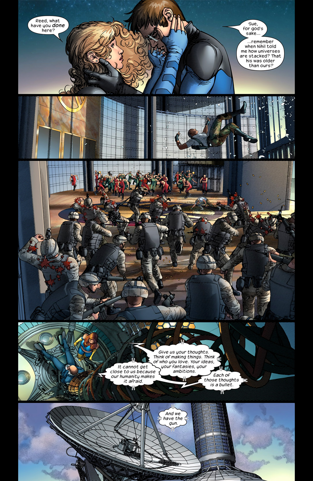 Read online Ultimate Extinction comic -  Issue #5 - 12