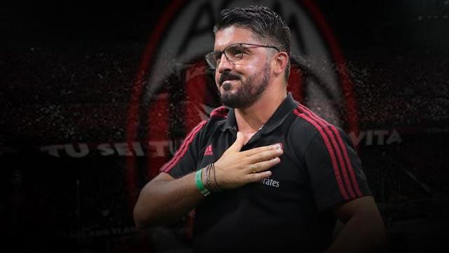 Jadi Pelatih AC Milan, Gattuso Malah Ucapkan Forza Inter