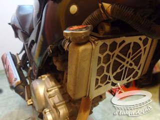Mengganti Air Radiator Yamaha V-ixion
