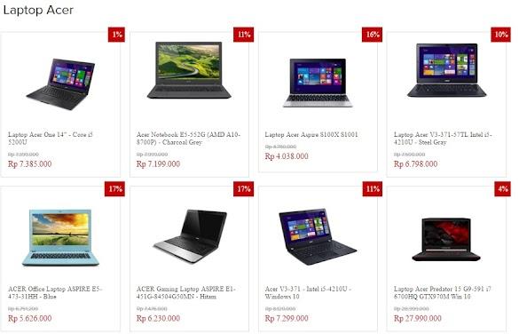 Mau Membeli Laptop, Acer Bagus Tidak ?