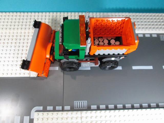 MOD LEGO Set City 60083 Camião limpa-neve