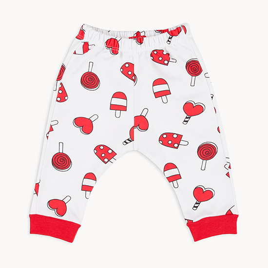 Pantalones estampados para niñas primavera verano 2018.
