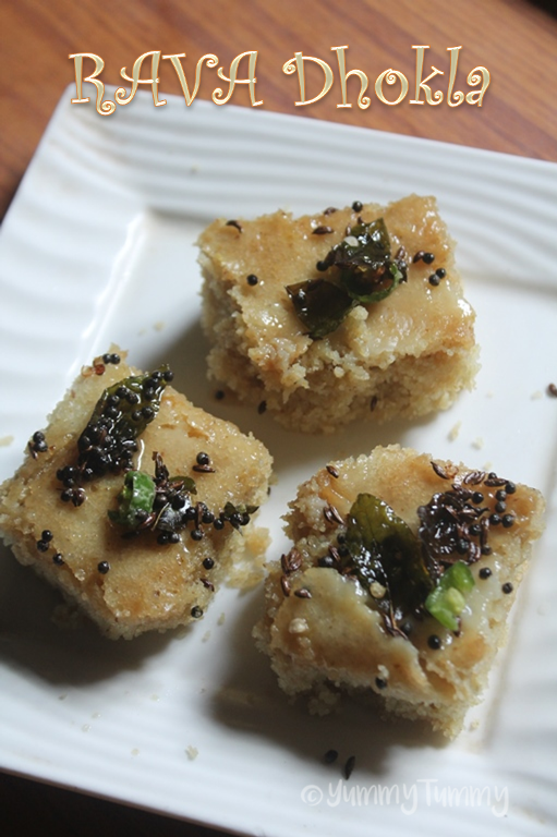 Rava dhokla recipe instant sooji dhokla recipe yummy tummy it can be made in a instant and it taste amazing perfect with a cup of coffee or tea forumfinder Images