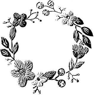 free download image drawing vector clip art flowers stitch embroidery 3D effect
