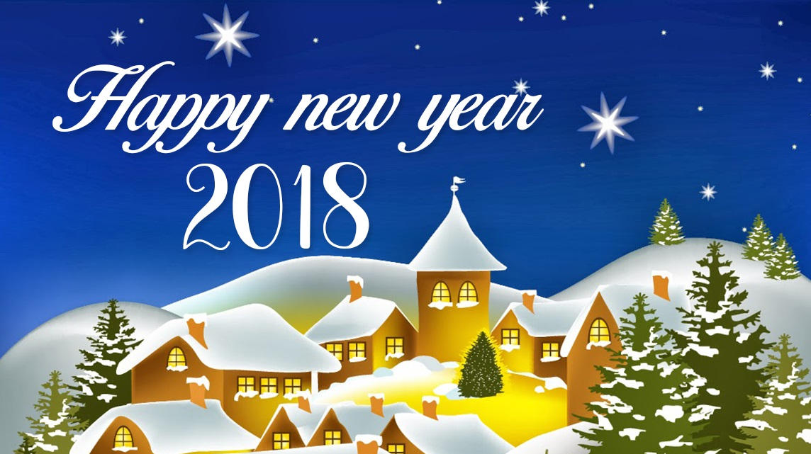 Happy new year 2018 wishes quotes new year images hd free new year greeting cards m4hsunfo