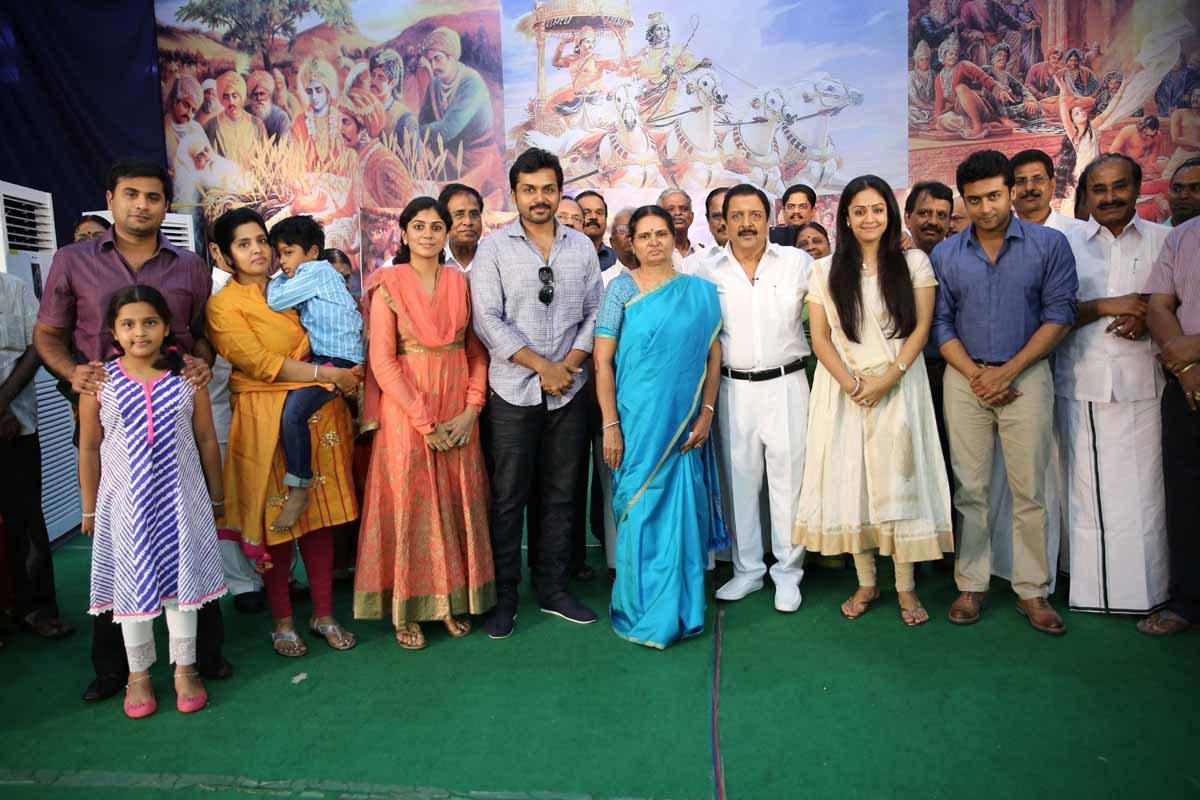 Veteran Actor Sivakumar Narrates Mahabharatham In 2 Hrs