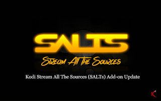 Salts Addons Is Back - How To Install Salts Kodi Addons