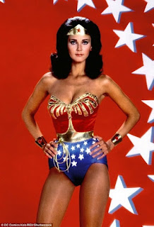Lynda Carter alias Wonder Woman