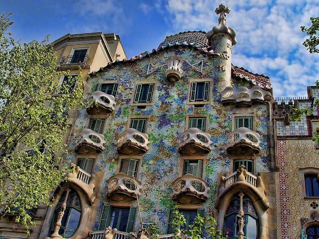 Primavera em Barcelona