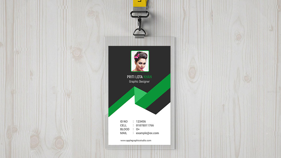 id card design - How To Make Id Card