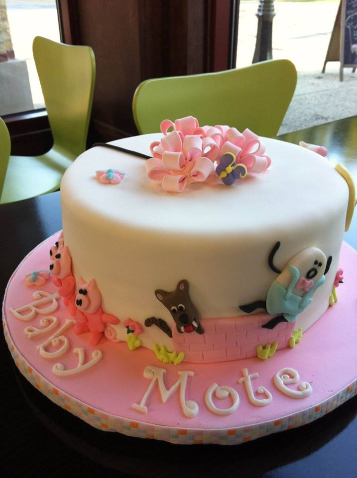 Tickled Pink Cakes Nursery Rhyme Baby Shower Cake