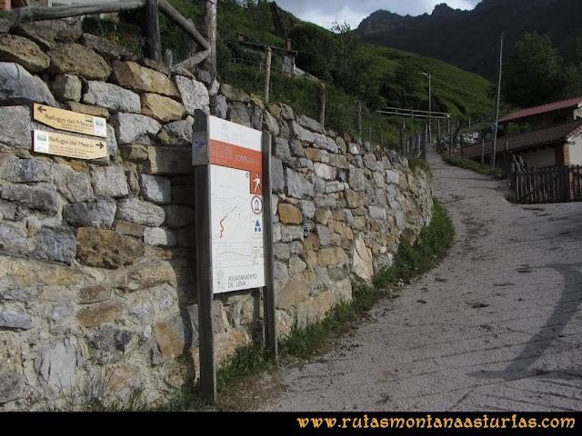 Ruta Peña Cerreos y Ubiña Pequeña: Sendero al refugio de Meicín