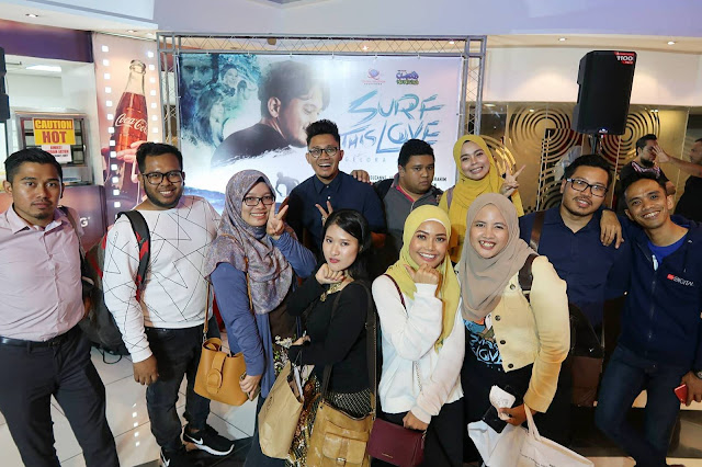 Movie Review, Surf This Love - Gelora Jiwa