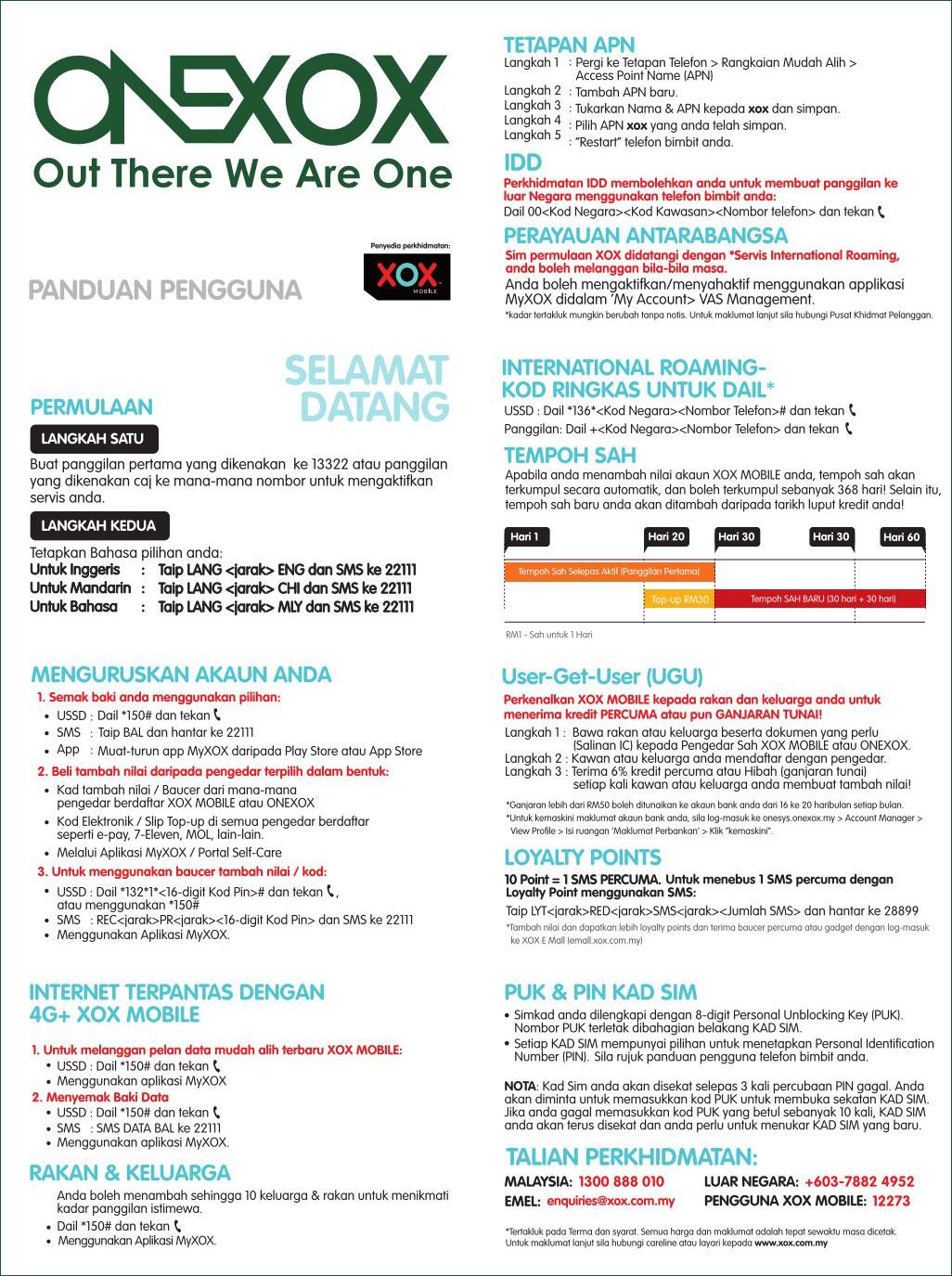 Panduan Pengguna ONEXOX Prepaid
