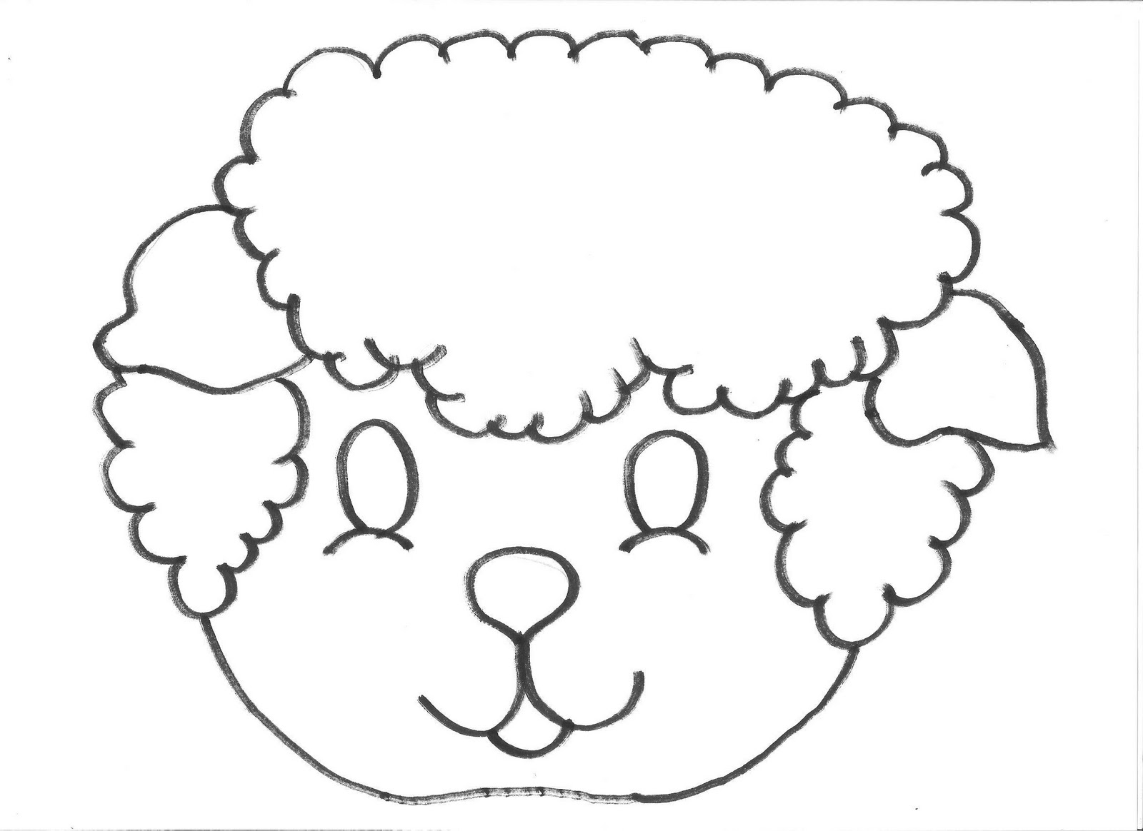 Mascara De Ovelha Espaco Educar