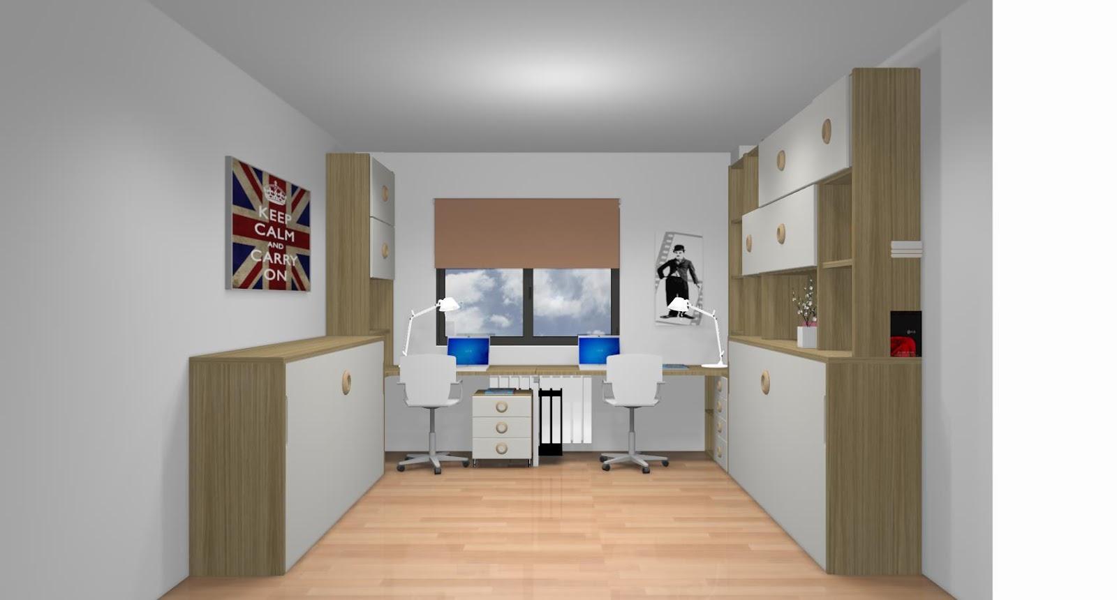 Dormitorios juveniles a medida con cama compacto