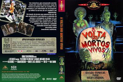 A Volta dos Mortos Vivos DVD Capa