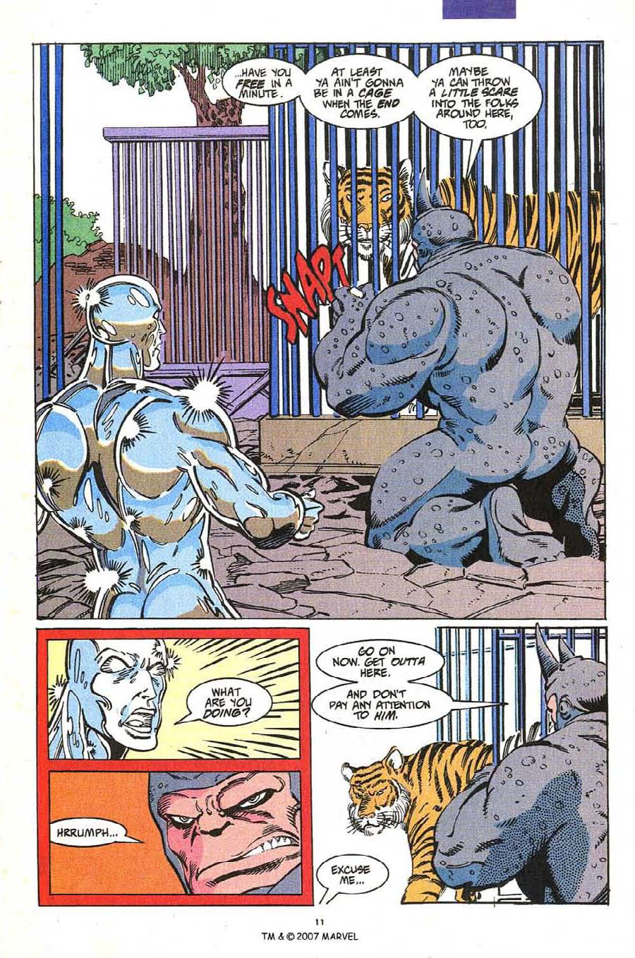 Read online Silver Surfer (1987) comic -  Issue #54 - 13