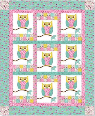 Quilt Inspiration: Free Pattern Day: Owls ! : owl quilt patterns - Adamdwight.com