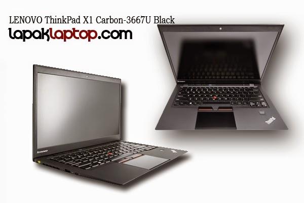 Laptop Terbaru Lenovo Suoer Cepat, ThinkPad X1 Carbon-3667U Black