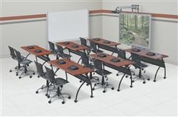 Training Room with Modular Tables
