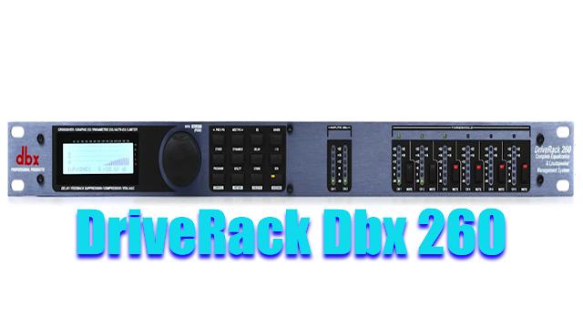DriveRack Dbx 260