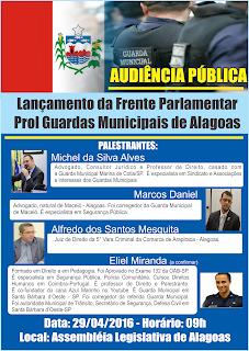 CONVITE, O PRESIDENTE DA AGM - SMC, GCM VANILO ROCHA