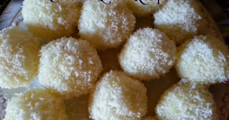 how to make coconut ladoo at home