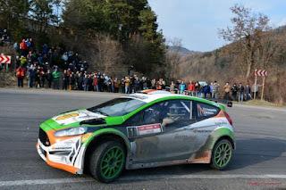 Simone Tempestini si Marc Banca Tess Rally 2016