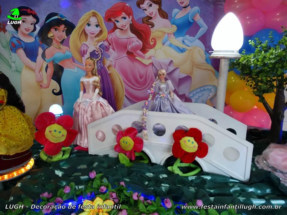 Decora o princesas disney festa de anivers rio infantil - Mesas infantiles disney ...