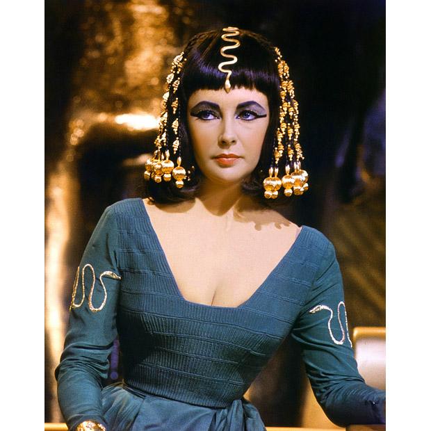 Enfeite de cabelo egípcio, Cleopatra filme, Elisabeth Taylor, acessórios