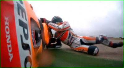 Tidak Suka MotoGP,markues terjatuh,motogp,