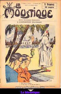 Le Moustique, Journal Humoristique Hebdomadaire, numéro 41, année 1931
