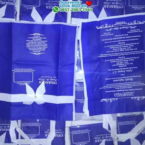 pabrik undangan pernikahan tas spunbond murah eceran 50111